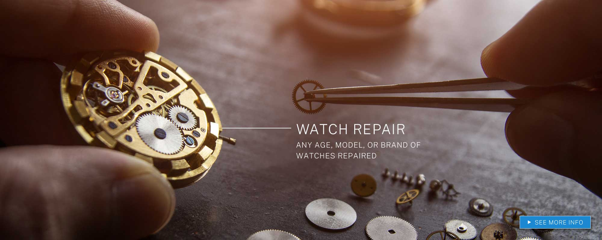 Watch Repair Service Available At Marks Jewelry Co. LLC