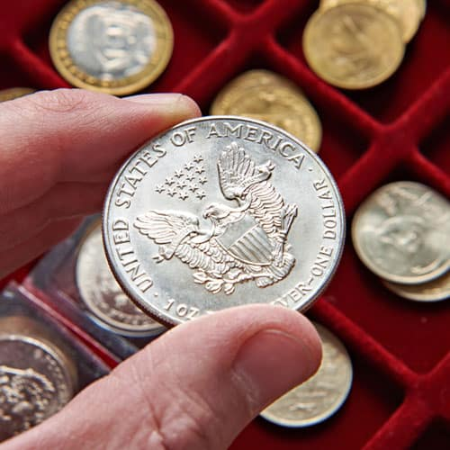 Gold and Silver Coin Dealer Service at Marks Jewelry Co. LLC